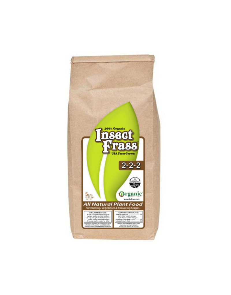 Insect Frass, 5 lbs.