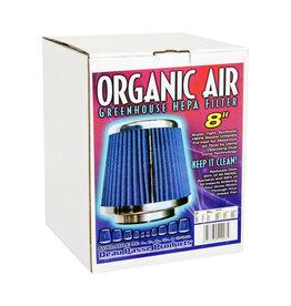 "Organic Air 8""  HEPA air filter"