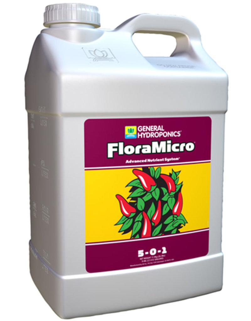 General Hydroponics GH Flora Micro 2.5 Gallon