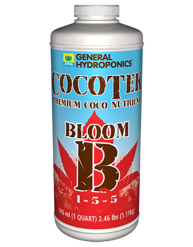 General Hydroponics GH Cocotek Bloom B Quart (12/Cs)