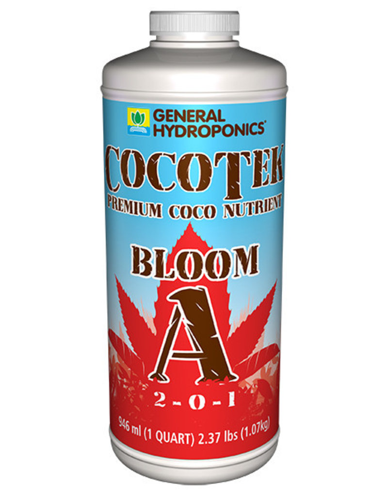 General Hydroponics GH Cocotek Bloom A Quart (12/Cs)
