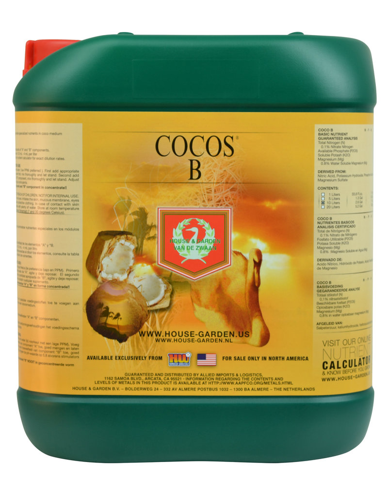 House and Garden House and Garden Cocos B 5 Liter