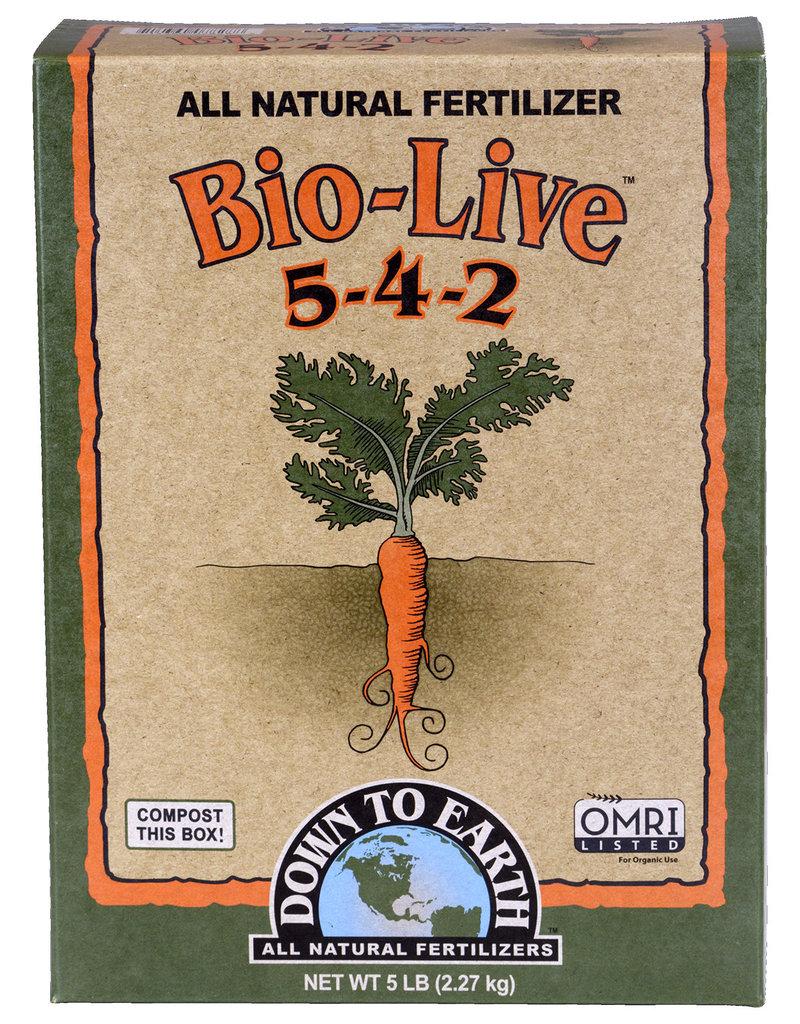 Down To Earth Bio-Live - 5 lb