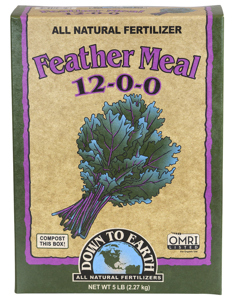 Down To Earth Down To Earth Feather Meal - 5 lb (6/Cs)