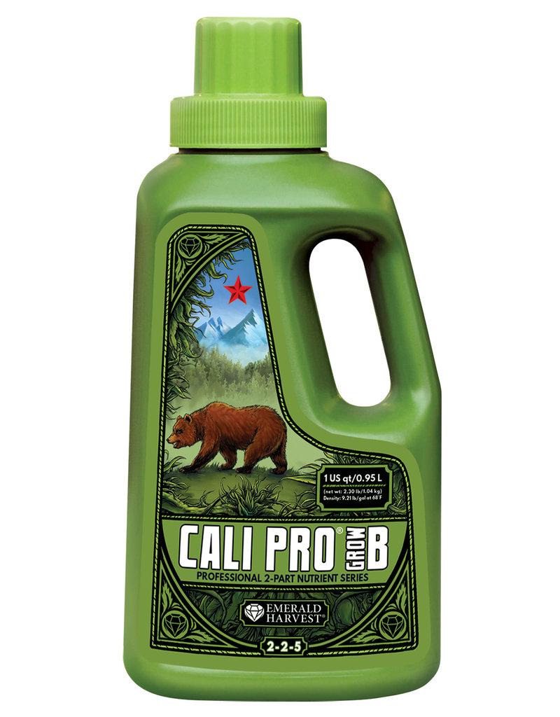 Emerald Harvest Emerald Harvest Cali Pro Grow B Quart/0.95 Liter (12/Cs)