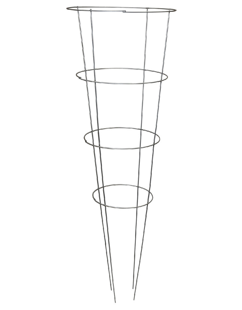 Grower's Edge High Stakes Tomato Cage - 4 Ring - 54 in