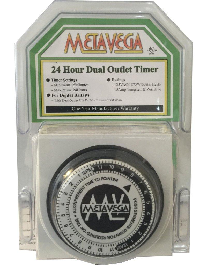 Metavega dual outlet