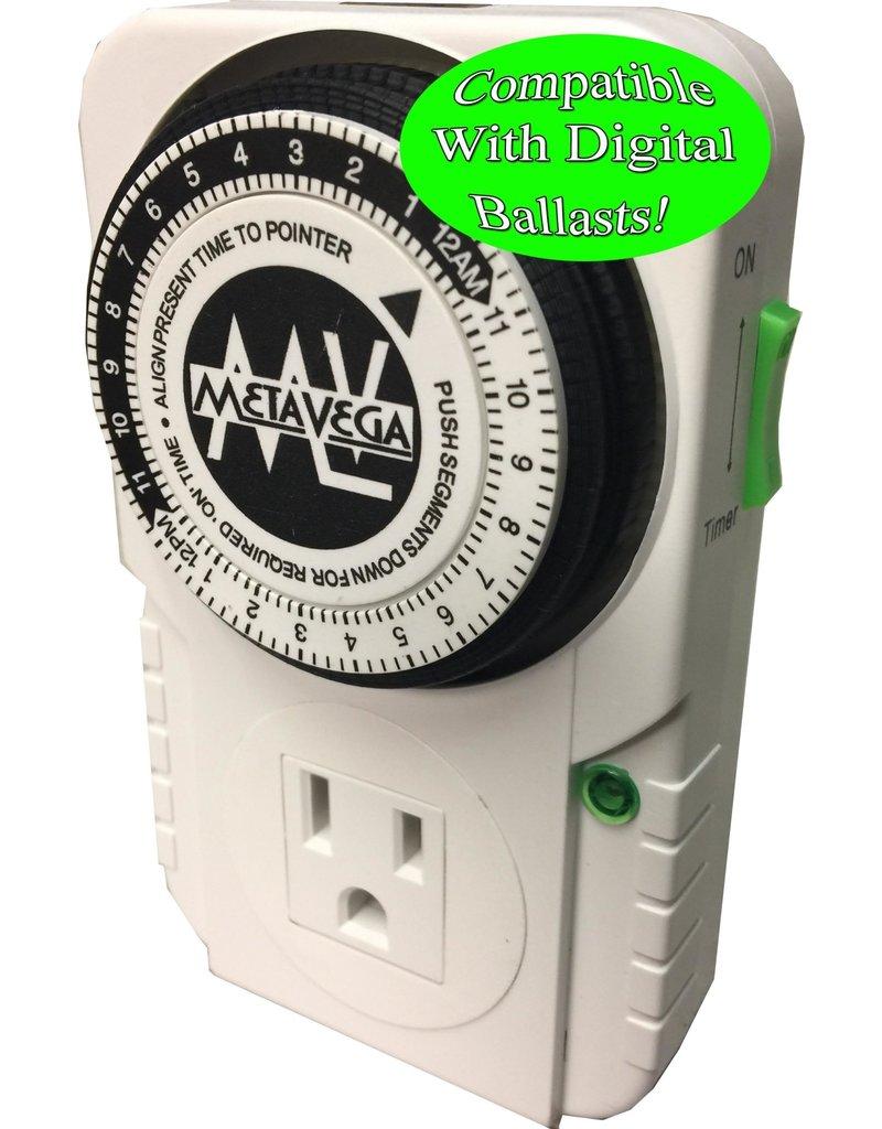 Metavega single outlet timer