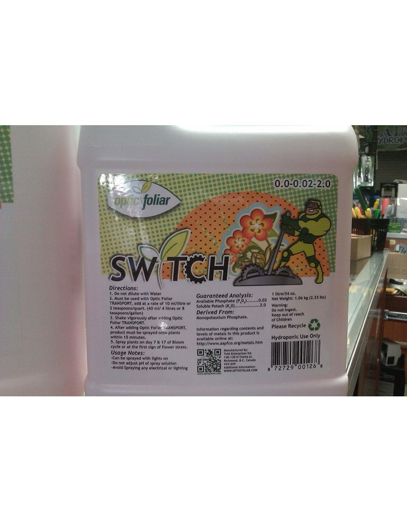 Optic Foliar Switch 1 Litre