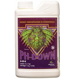 Advanced Nutrients Advanced pH-Down Concentrate 1L