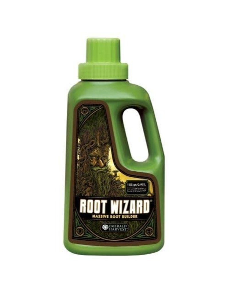Emerald Harvest Emerald Harvest Root Wizard Quart/0.95 Liter (12/Cs) (OR Label)