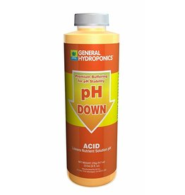 General Hydroponics GH pH Down - 8oz