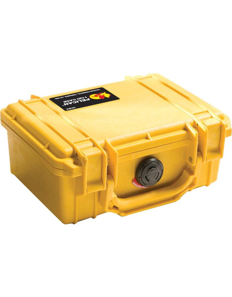 Pelican Case - 1200 Dry Box Yellow