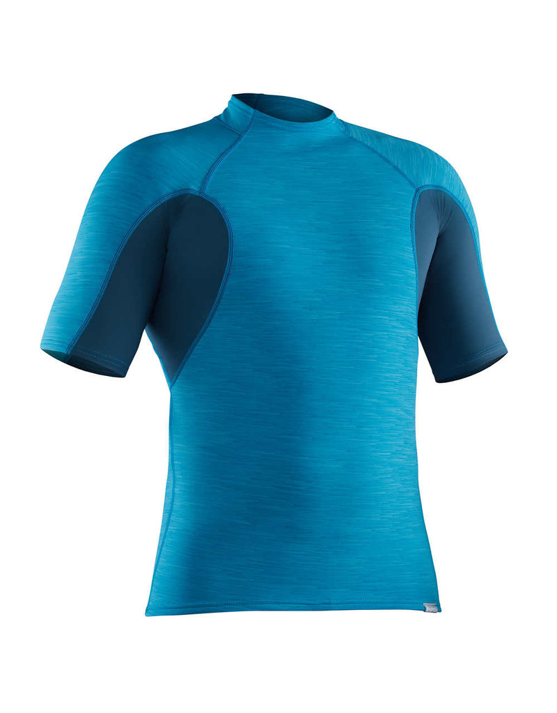 NRS NRS Men's HydroSkin 0.5 Short-Sleeve Shirt M Blue