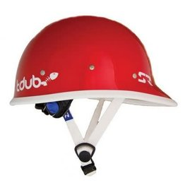 Shred Ready Tdub Helmet Flash Red