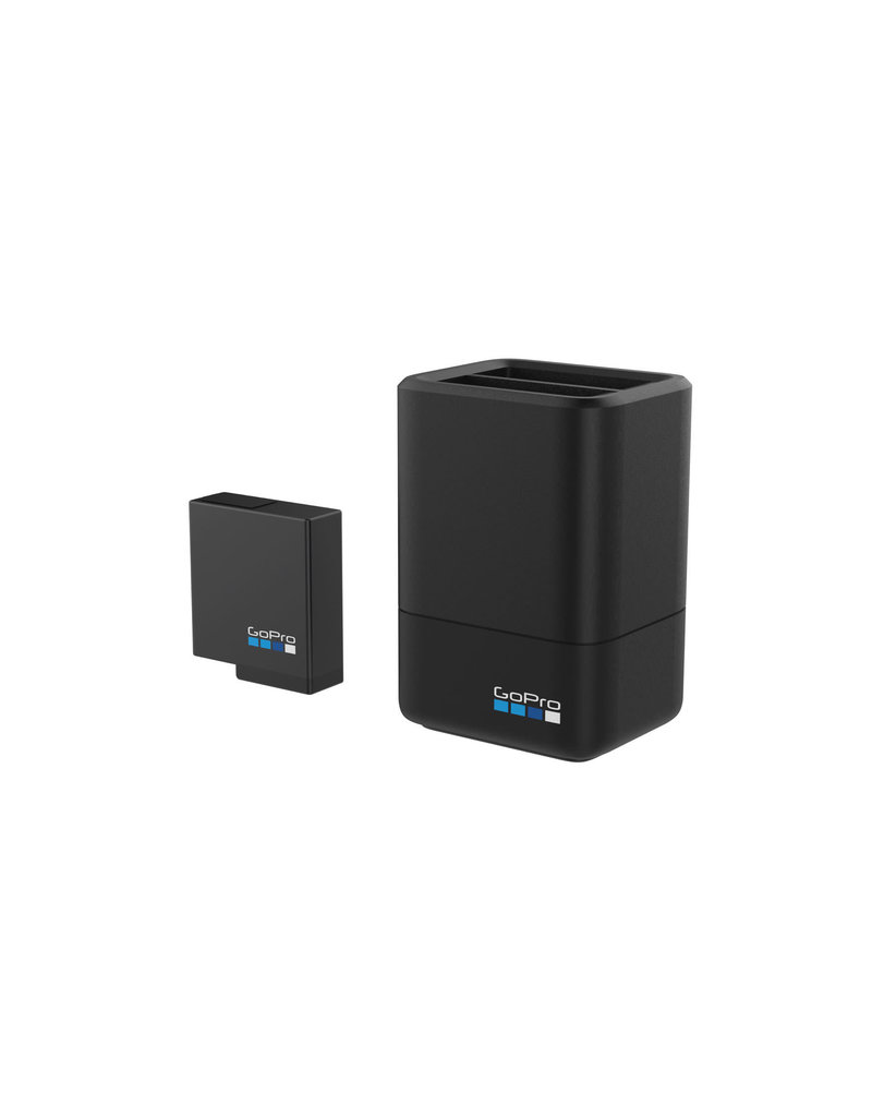 GoPro Dual Battery Charger_+ Battery Hero 5-6-7-8