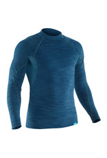 M's HydroSkin 0.5 L/S Shirt S Moroccan Blue