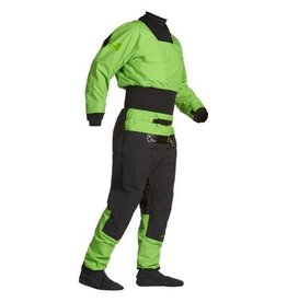 Immersion Research 7Figure Dry Suit Large Green Flash
