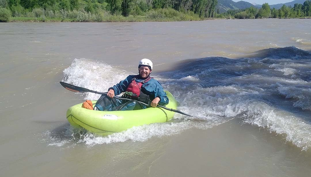 Surfing on the Snake River