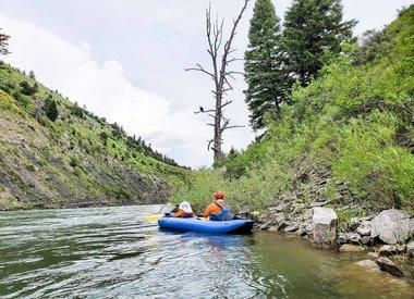 Custom Scenic Inflatable Kayak Trip