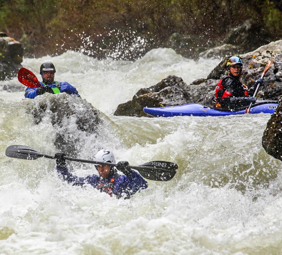 Bitch Creek kayaking