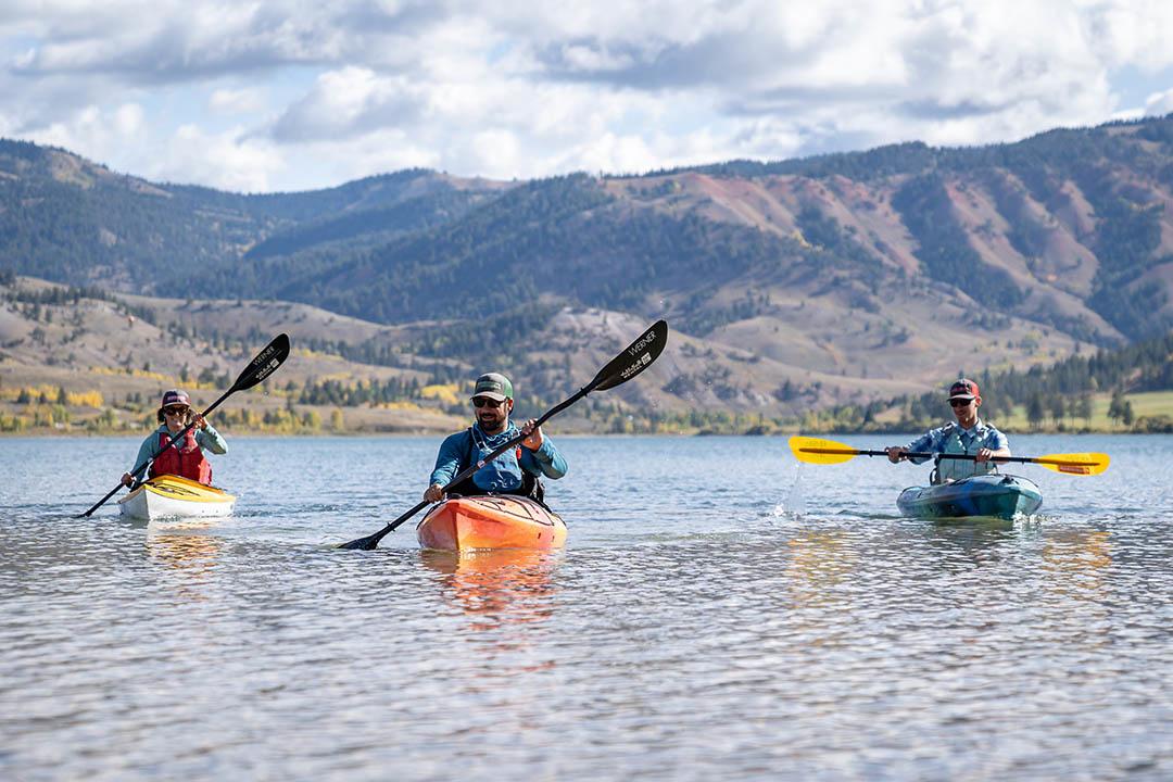 Slide Lake Kayaking