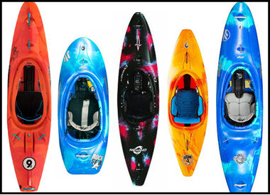 Whitewater Kayaks