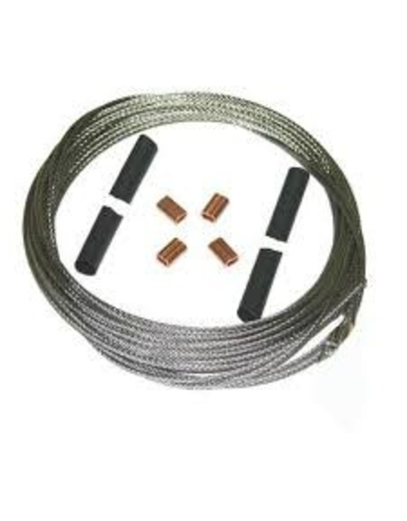 Stainless Steel Rudder Cable Pair