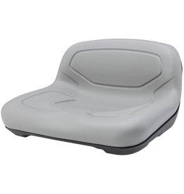 NRS Low Back Plastic Drainage Seat