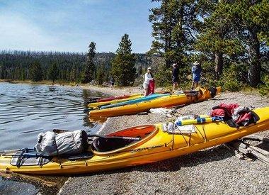 Excursions d'une journée en kayak à Yellowstone