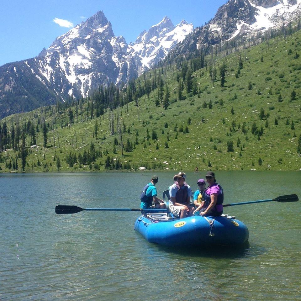 String Lake raft