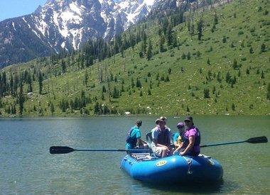 Rafting escénico