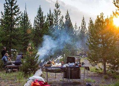 Excursions en kayak de plusieurs jours à Yellowstone