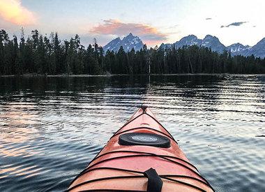 Kayak et rafting dans le parc national de Grand Teton