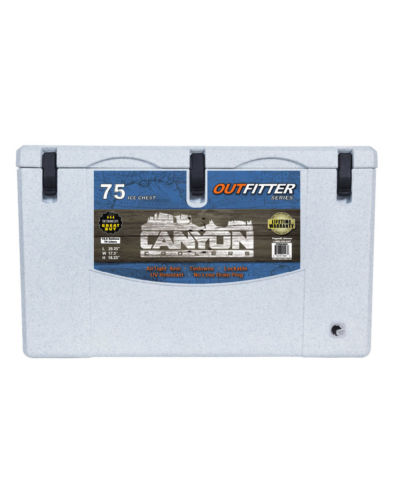 Canyon Coolers Outfitter 75 White Marble