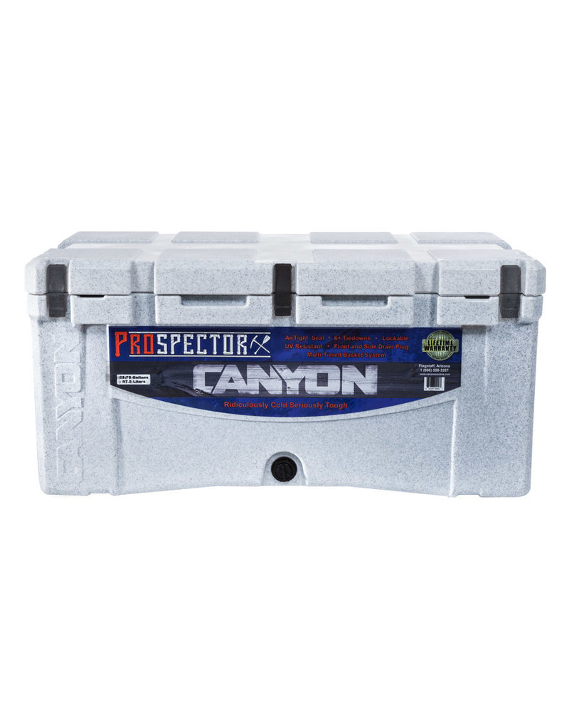 Canyon Coolers Prospector 103 White Marble