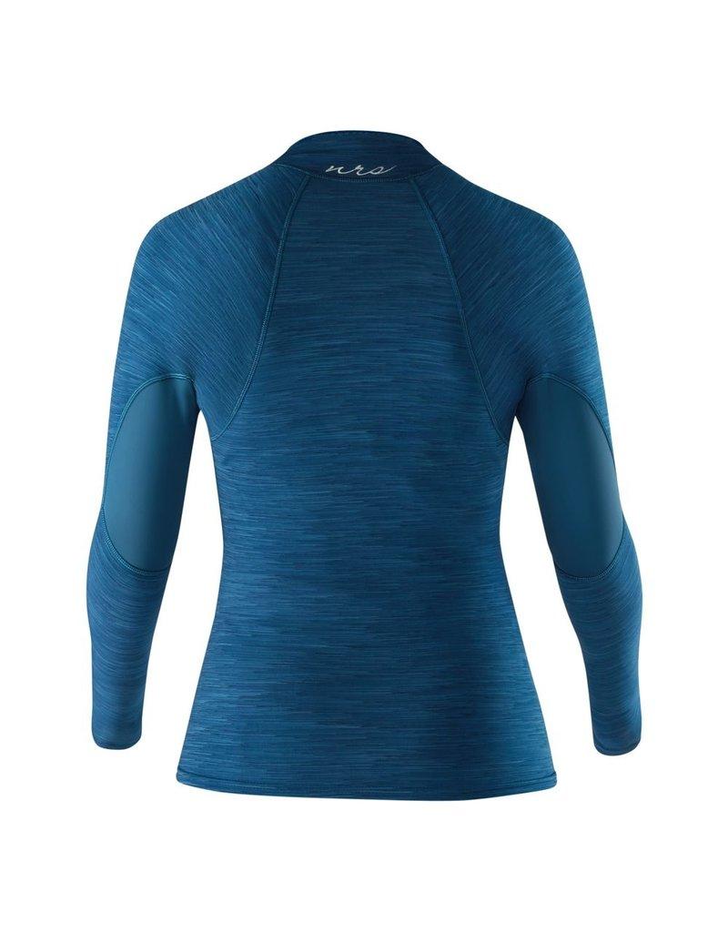 NRS W's HydroSkin 0.5 Jacket Moroccan Blue