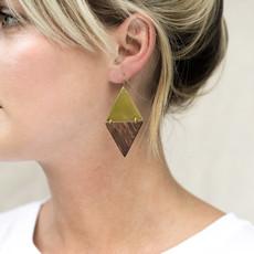 YEWO Sumu Brass Earring