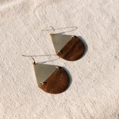 YEWO Zeru Brass Earring