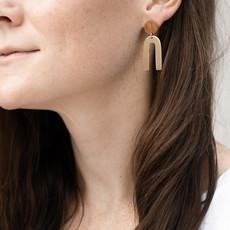 YEWO Kuvina Brass Earring