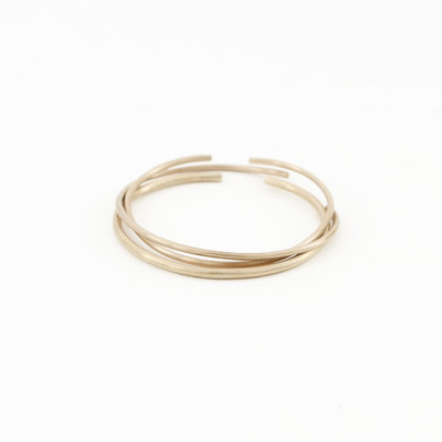YEWO Dazi Brass Bangle - set of 3