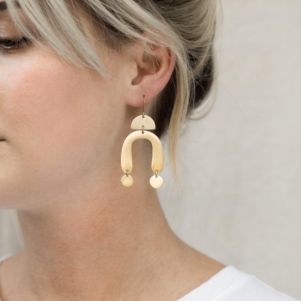 YEWO Tiyeni Brass Earring