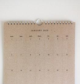 2020 Hanging Calendar