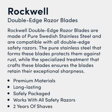 Double-Edge Razor Blades  (20-Pack)