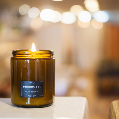 Dilo 8 oz. Soy Candles (various scents)