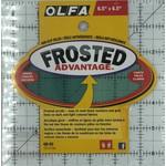 Olfa OLFA FROSTED 6.5 X 6.5 RULER