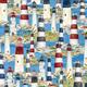 WILMINGTON PRINTS 315cm HARBOUR LIGHTS 491 Lighthouses $21/M