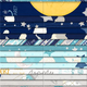 """WILMINGTON PRINTS 2.5"""" JELLY ROLL All Our Stars"""