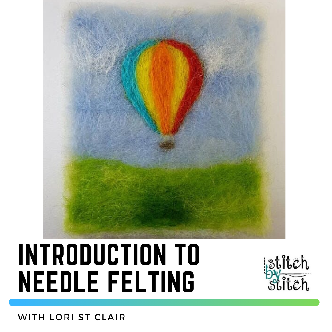 Introduction to Needle Felting Class