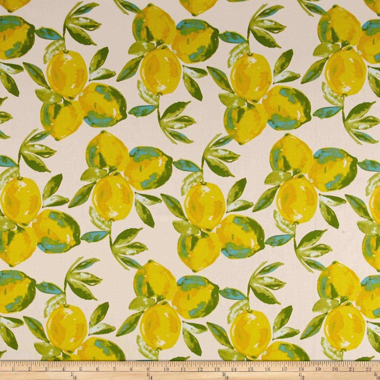 ART GALLERY Sage, Yuma Lemons CANVAS, PER CM OR $28/M